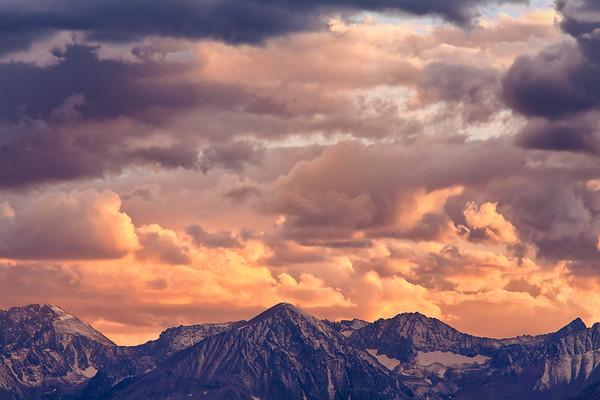 Eastern Sierra Nevada Sunset