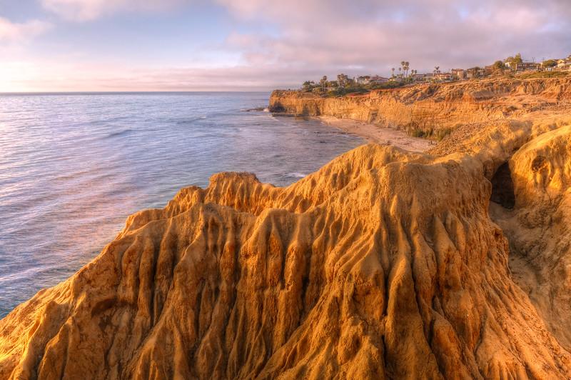 Sunset cliffs @ San diego