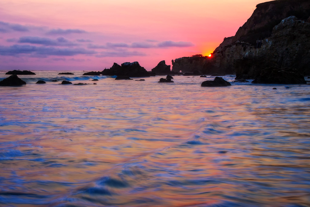 Impressionist Landscape (Matador Beach - Los Angeles, California)