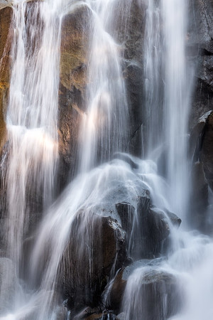 Grizzly Falls in Kings Canyon National Park California