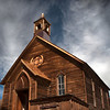 Church at Bodie Historical Park, CA.