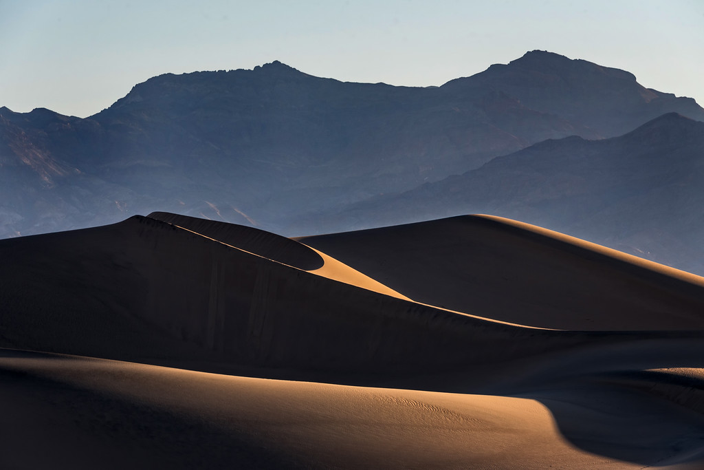 Mesquite Dunes at Sunrise (Death Valley National Park)