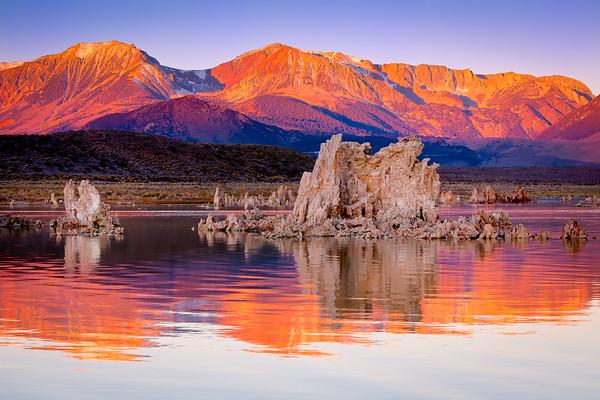 Sunrise at Mono Lake California