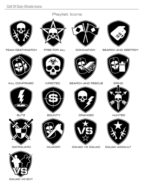 Multiplayer Playlist Icons