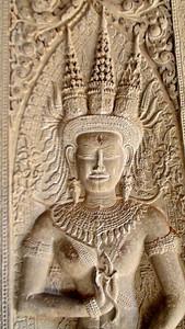 Shiva Carving, Angkor Wat
