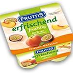 20107 Fruttis 0,5% persiku, marakuja 125g x 4
