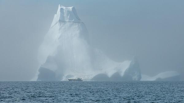 The Iceberg at Twillingate