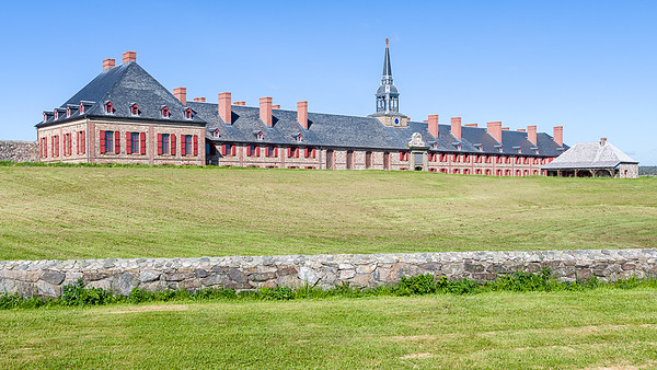 Louisbourg Fortress Video