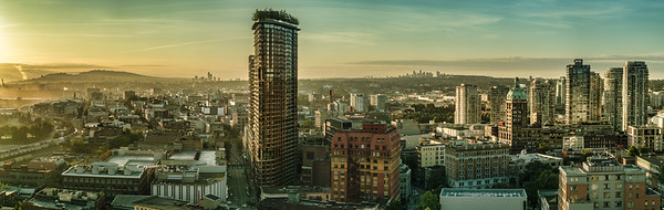 Panorama of Eastern Vancouver