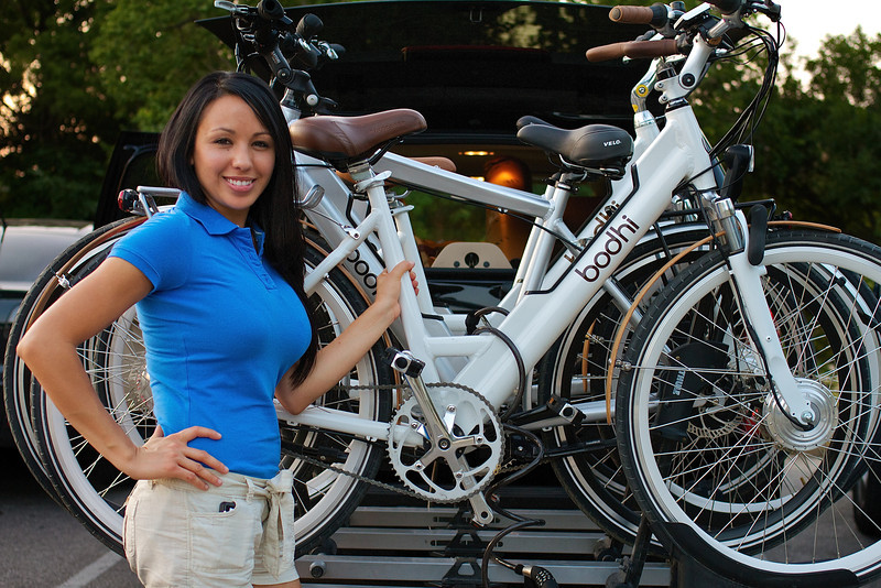 Norma Poses with Bodhi Bicycles - Austin, Texas