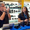 Brett shoots a mystery camera - Austin, Texas
