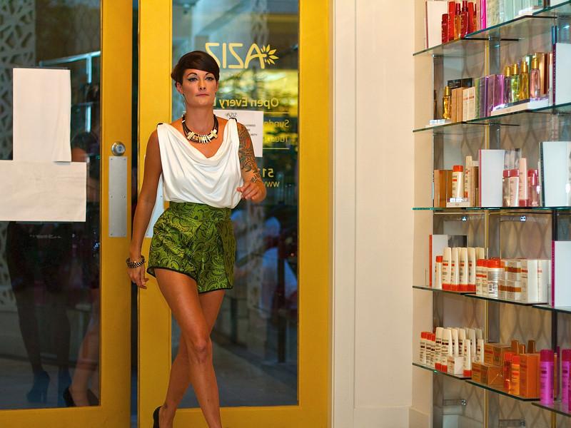 Fashion Show #3, AZIZ Salon - Austin, Texas