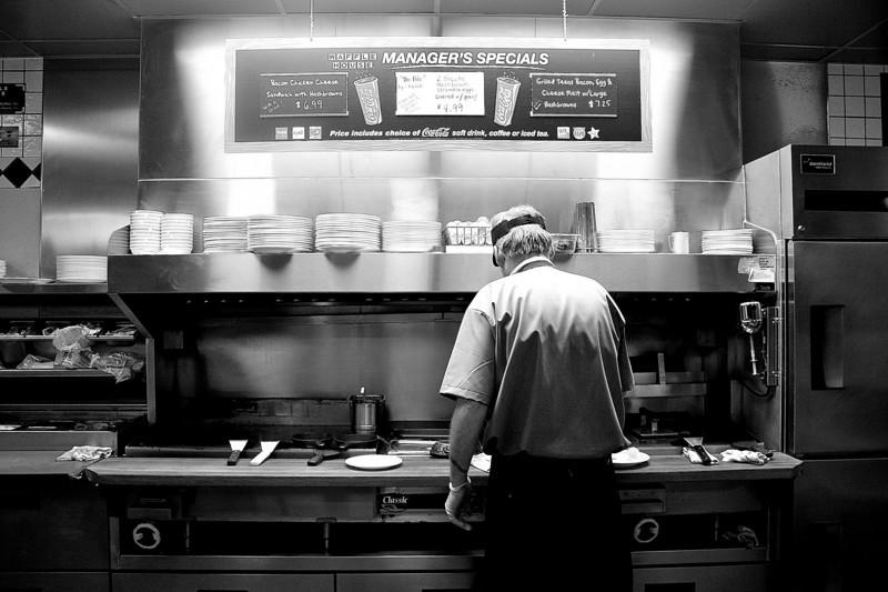 Short Order Cook, Waffle House - Austin, Texas