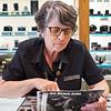 Tamra Looks at My Book, Precision Camera - Austin, Texas