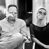 Smoking Couple - Austin, Texas