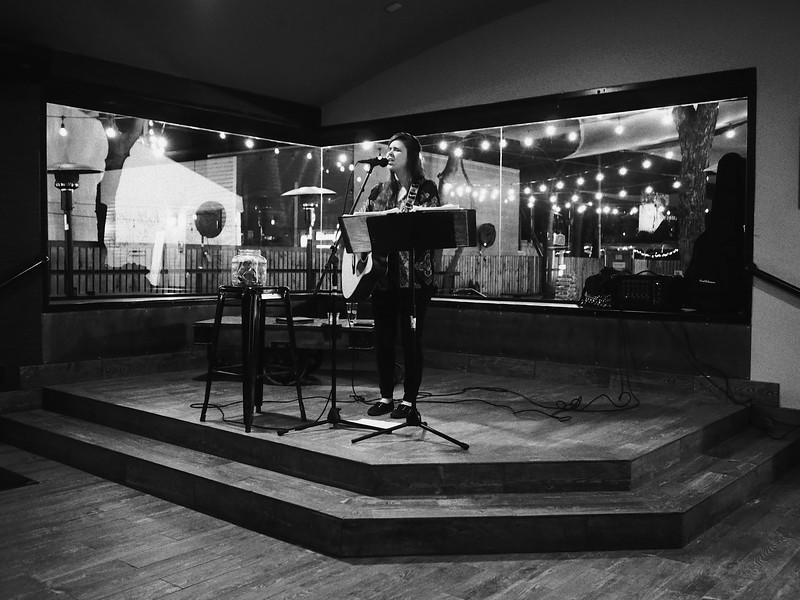 Chelsea Performs at the Bungalow, Rainey Street - Austin, Texas