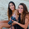 Rawan and Nadine, Waikiki Beach - Honolulu, Hawaii