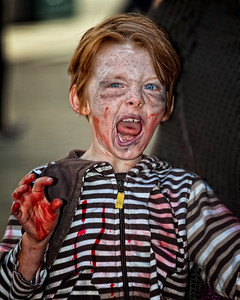 A young Zombie