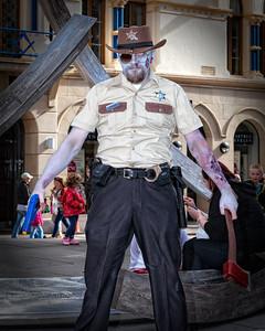 Zombie Policeman, Belfast Zombie walk