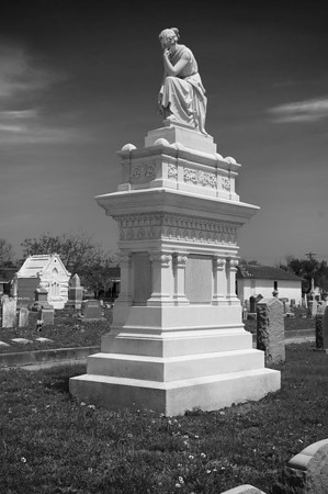 Galveston City Cemetery, July 2010, #1