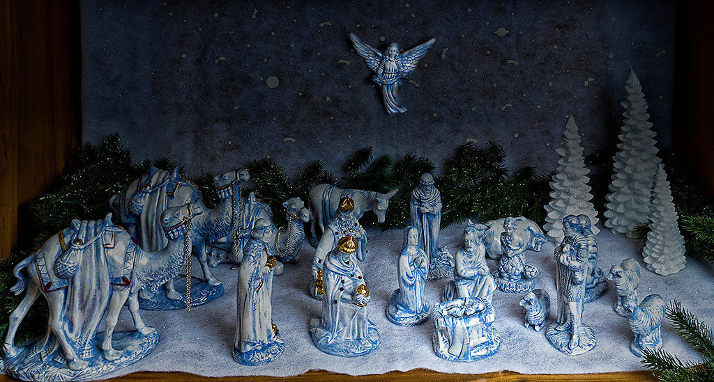 Jean's Nativity Set