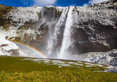 Seljalandafoss Rainbow