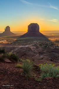 Monument Dawn, Monument Valley, UT