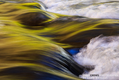 """Virgin River Abstract"""