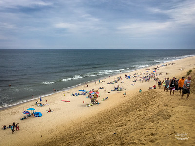 Cahoon Hollow Beach Bathers