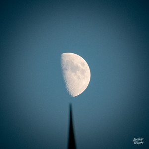 About a Half a Moon