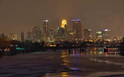Minneapolis Displays - Purple Pride