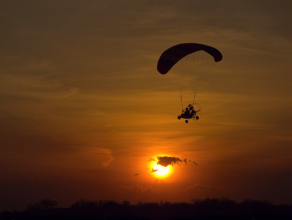 Flying Over the Sun