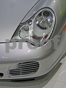 Porsche front corner