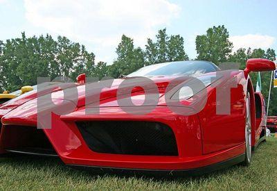 Ferrari Enzo front corner (Meadow Brook Concours d'Elegance 2005)