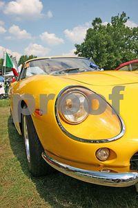 Ferrari front corner (Meadow Brook Concours d'Elegance 2005)