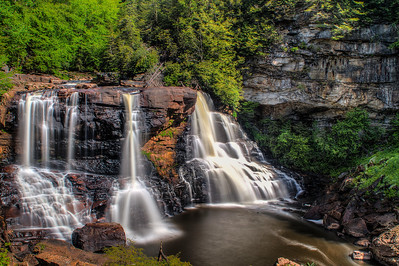 Blackwater Falls , West Virginia