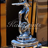 Hood ornament of a 1930 Ford A