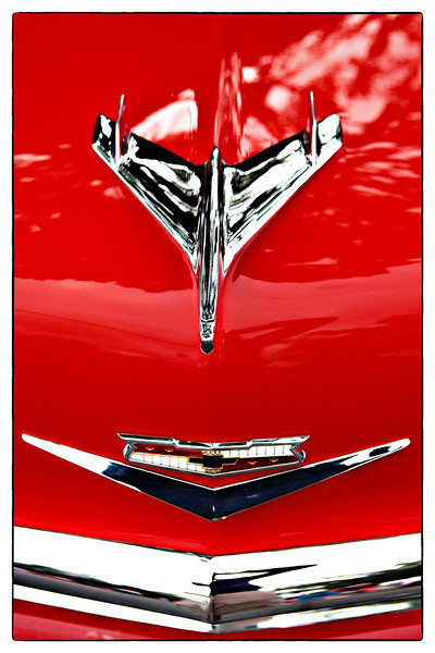 #726 Chevy Hood Ornament