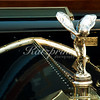 "The ""Spirit of Ecstasy"" on a classic Rolls Royce at the Pebble Beach Tour d'Elegance in Carmel"
