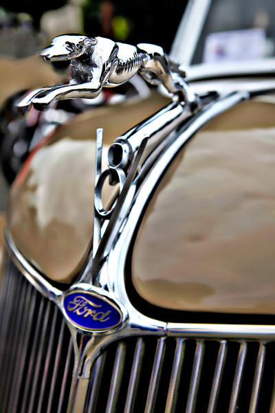#744 Ford Hood Ornament