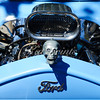 Front view of a Ford hot rod at the Cruise for a Cause in Willow Glen