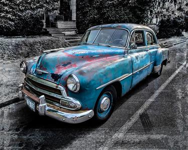 #22951  1951 Classic Chevy Deluxe