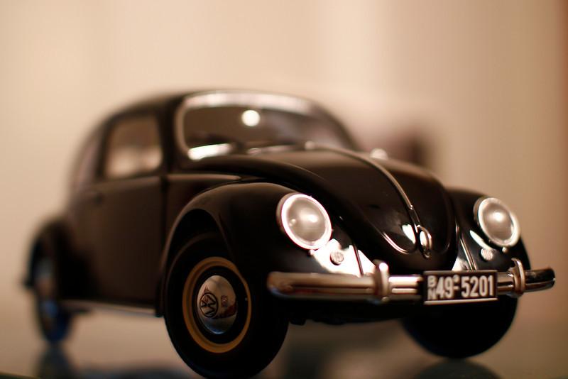 Volkswagen Fusca Saloon 1949 1:12