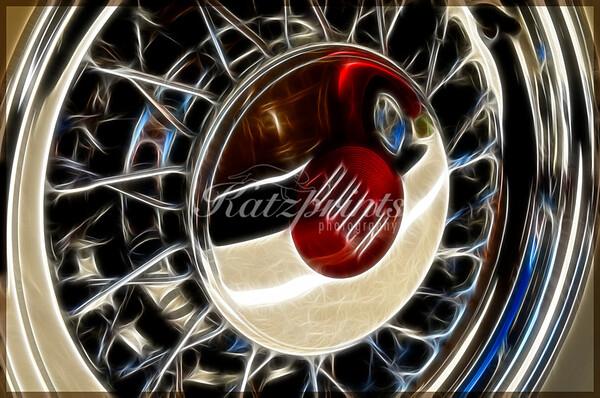 Wheel of a 1952 Buick Wagon