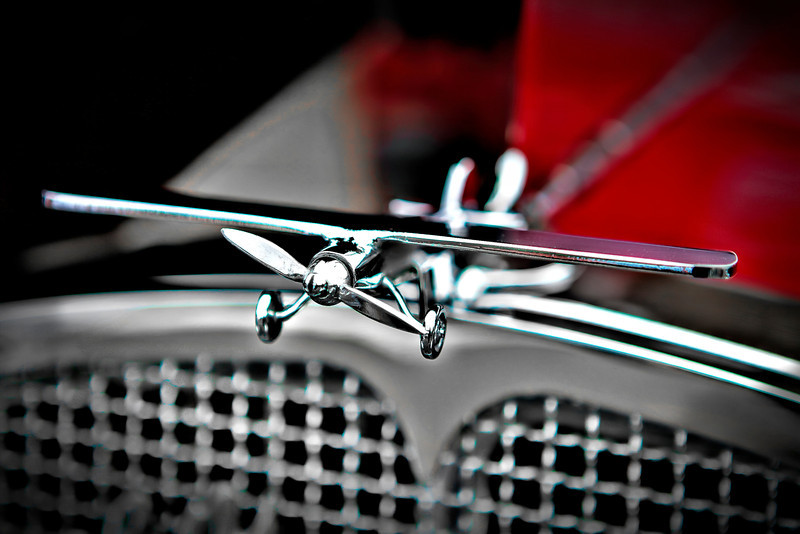 #739 Airplane Hood Ornament