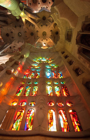 Sagrada Familia, Barcelona, Spain- 2009