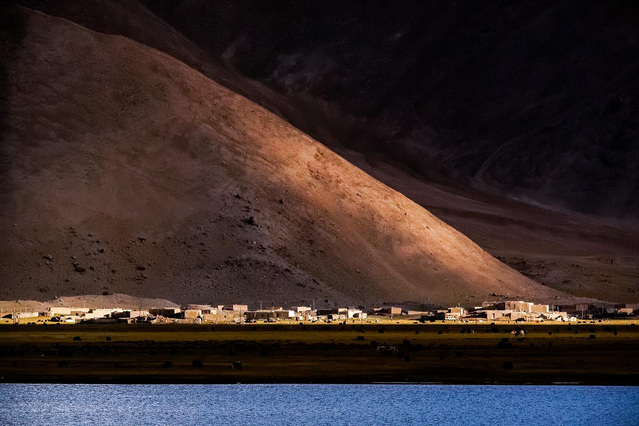 Last of the light over Karakul