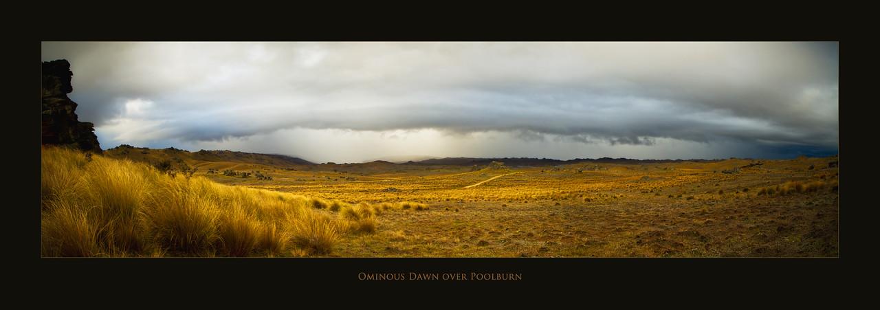 Ominous Poolburn Dawn