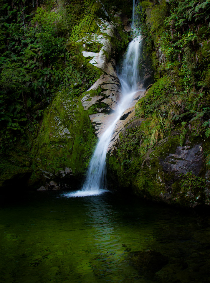 Dorothy Falls, Lake Kaniere