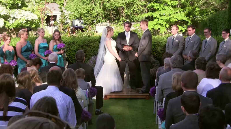 Chelsie and Brandon   Wedding Ceremony